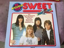 THE SWEET   10 years on top    Classic Glam Rock Compilation 33T (a40)