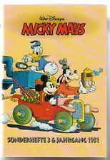 Micky Maus Reprint Kassette Nr.6 Sonderhefte 3 J.g. 1951 in Topzustand !!!