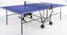 Kettler Axos Outdoor 1,Outdoor Tischtennisplatte blau/weiß, TT-Platte wetterfest