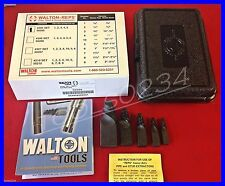 """New Walton 50205 REPS Pipe Extractor Set #205 #1-5 for pipe 1/8-3/4"""" Made in USA"""