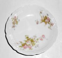 Vienna Porcelain Austria Pink Roses Fruit Bowl