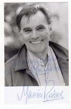 MAURICE ROEVES Scottish actor. Nice genuine signed photo
