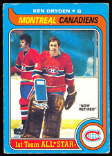 1979 80 OPC O PEE CHEE 150 KEN DRYDEN AS VG-EX MONTREAL CANADIENS HOCKEY CARD