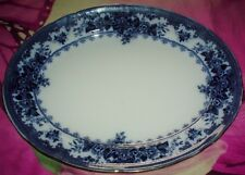 Pretty K & CO Late Mayers 1790 COLWYN Design Blue And White Huge Platter