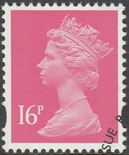 GB Stamps 2009 - Machin Definitive 16p Pale Cerise, 2 bands, S/G Y1769, VFUsed
