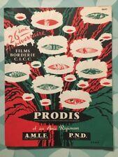 Catalogue FILMS BORDERIE C.I.C.C. - 26eme Anniversaire 1962 - 24 pages