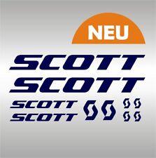 SCOTT -NEU- Aufkleber / Sticker-Set, bis 30 cm länge