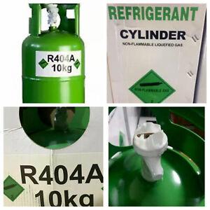 Brand New Virgin R404a Refrigerant Refillable Gas Cylinder 10 KG