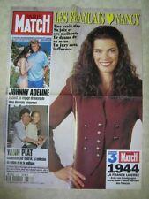 AFFICHE PROMO MATCH 2337/94 JOHNNY HALLYDAY NANCY (2)