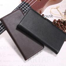 Genuine Leather Flip Wallet Case For Blackberry Key 2 / 2 LE / Keyone / Motion