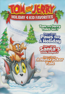 Tom and Jerry - Holiday 4 Kid Favorites New DVD