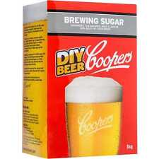 Coopers DIY BEER BREWING SUGAR 1Kg Enhances The Natural Malt Flavour *Aust Brand