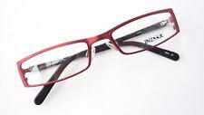 Reading Glasses Half Frame Red Narrow Glasses Lunettes Damenfassung Size M