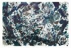 Sam Francis: Dark Cup, 1973. Signed, Numbered Fine Art Print
