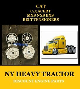 1900642 & 1900649 Tightener Belt Aftermarket for CAT C15 MXS NXS BXS