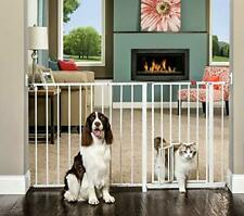 Walk Through Pet Gate Baby Kids Safety Door Stair Dog Fence Indoor Barrier 50-59