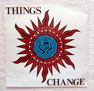 EP Single / THINGS / CHANGE / PUNK / GERMAN / RARITÄT / ATTACKE /