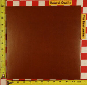 """HORWEEN COPPER TAN FLESH SIDE 5 OZ. LEATHER, 12"""" x 12"""",  NAT. QLTY"""