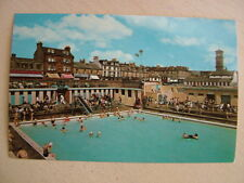 Postcard. HELENSBURGH, SWIMMING POOL. Unused. Standard size.