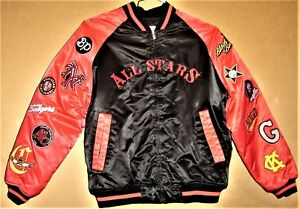 NEGRO LEAGUE THROWBACK 1900-1950 ALL-STARS JACKET Size Large & FREE CAPS!!!!!