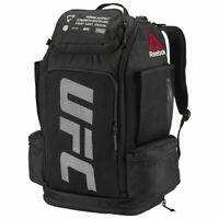 Reebok UFC Backpack Gym Training Sport Bag MMA martial arts black NEW