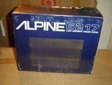 Alpine 6217 Component speakers, rare vintage