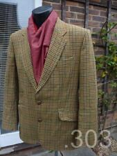 Bespoke Tailored Blazer / Jacket, Check Tweed Fabric, Country Hunting Shooting