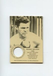 #SP.010 MICKEY WALKER Champion 1922 Wheat Penny Boxing Card RARE (MISSING COIN)