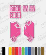 Rockshox sid stickers / autocollants - 12 + couleurs personnalisées disponibles