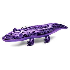 Krokodil aufblasbar Schwimmtier Luftmatratze 140cm 1,4m Aligator Aufblastier