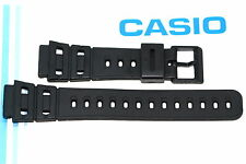 CASIO 20MM BLACK RUBBER WATCH BAND STRAP FIT DW240 DW260 DW270 DW200 DW720 DW210