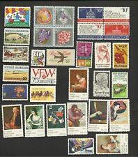 US, 1974 Full Commemorative year set, 31 singles and blocks, MNH