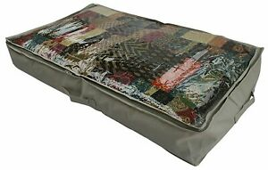 CST029 – Heavy Duty Underbed Storage Bag for Duvet, Blanket & Towels 60x15x100cm