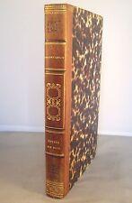 ETUDES.. SUR LA PERSONNE ET LES ECRITS DE J.F. DUCIS / O. LEROY / RELIURE 1832