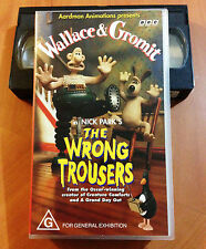 WALLACE & GROMIT - THE WRONG TROUSERS - VHS