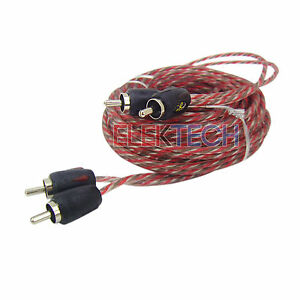 Stinger SI4217 RCA Interconnect Audio Cable 2 Channels 17 ft 4000 Series Stereo