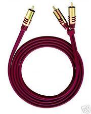 OEHLBACH  NF Y-Sub 200 / Y-Adapter Kabel /Subwooferkabel, 2m NEU