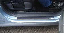 Volkswagen VW Passat 05-15 Silver Steel Kick Plate Car Door Sill Protectors K128