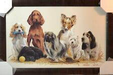 James Killen Prep Daze Dog Art Print-Framed