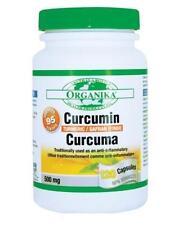 ORGANIKA Curcumin Tumeric 120 capsules