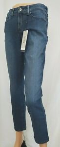 NEW Womens NYDJ Alina Roll Cuff Ankle Jeans NWT Size 4 Style Nottingham