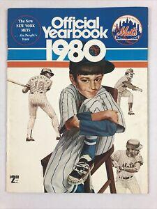 1980 New York Mets Official Yearbook Team Foldout Wilson Backman Ramirez Torre