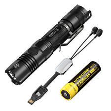 Nitecore P12GT Flashlight 1000Lm w/NL183 Battery +Portable USB charger