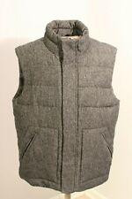 Woman's Gap Vest Gray Wool Winter Wear Size Medium