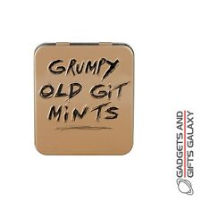 GRUMPY OLD GIT BRITISH TIN OF MINTS Adults gifts toys games and gadgets