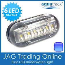 """12V BLUE 6-LED 3W Underwater Boat Transom Light 3.5"""" - Fishing Squid Trailer"""