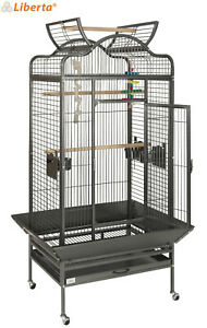 LIBERTA VOYAGER ANTIQUE LARGE CAGE FOR MEDIUM PARROTS AFRICAN GREY AMAZONS