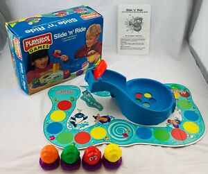 1995 Slide 'n' Ride Game by Playskool Complete in Great Condition FREE SHIPPING