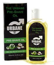 Urbane Men Pre-shave Oil 100ml (aloe Vera & Coconut Oil) Alcohol Natural O