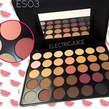 Kara 35 Color Eyeshadow Palette Eyes Make Up Makeup Matte Purples Peach ES03